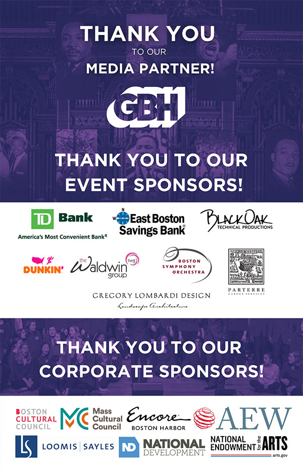 Boston Childrens Choir Sponsors